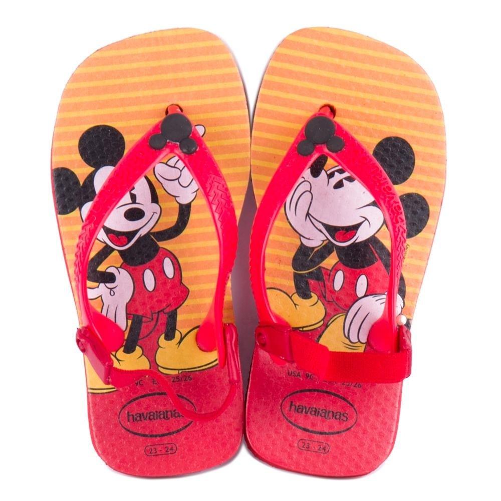 Havaianas Disney Baby Sandália Baby Classics Havaianas Vermelho Disney Sandália RwfSBq