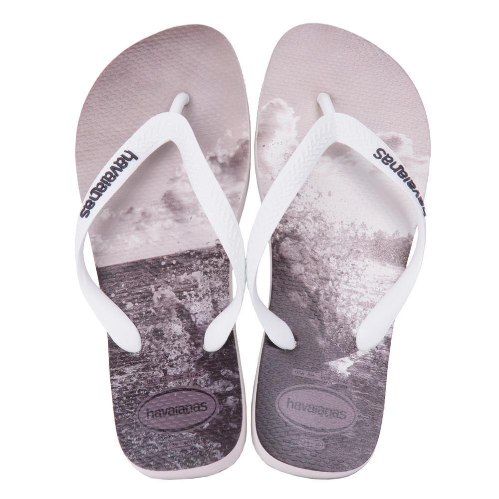 Sandalia Sandalia Havaianas Havaianas Preto Chumbo e Branco Hype Cinza Branco dpw5xHU5q