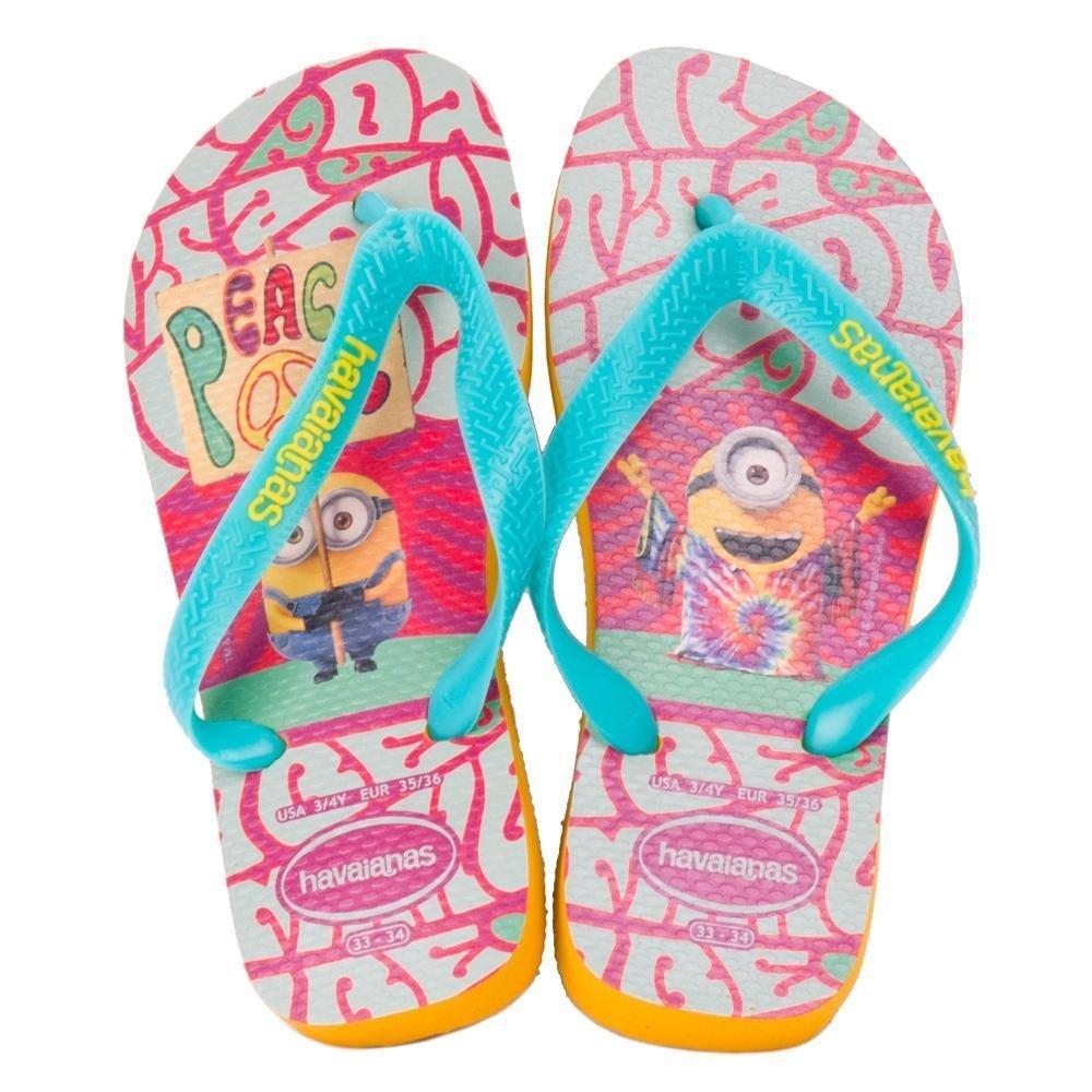 Rosa Sandália e Havaianas Havaianas Azul Sandália Minions Kids wpqvnd0xz