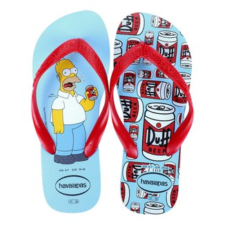 Sandália Havaianas Simpsons Masculina