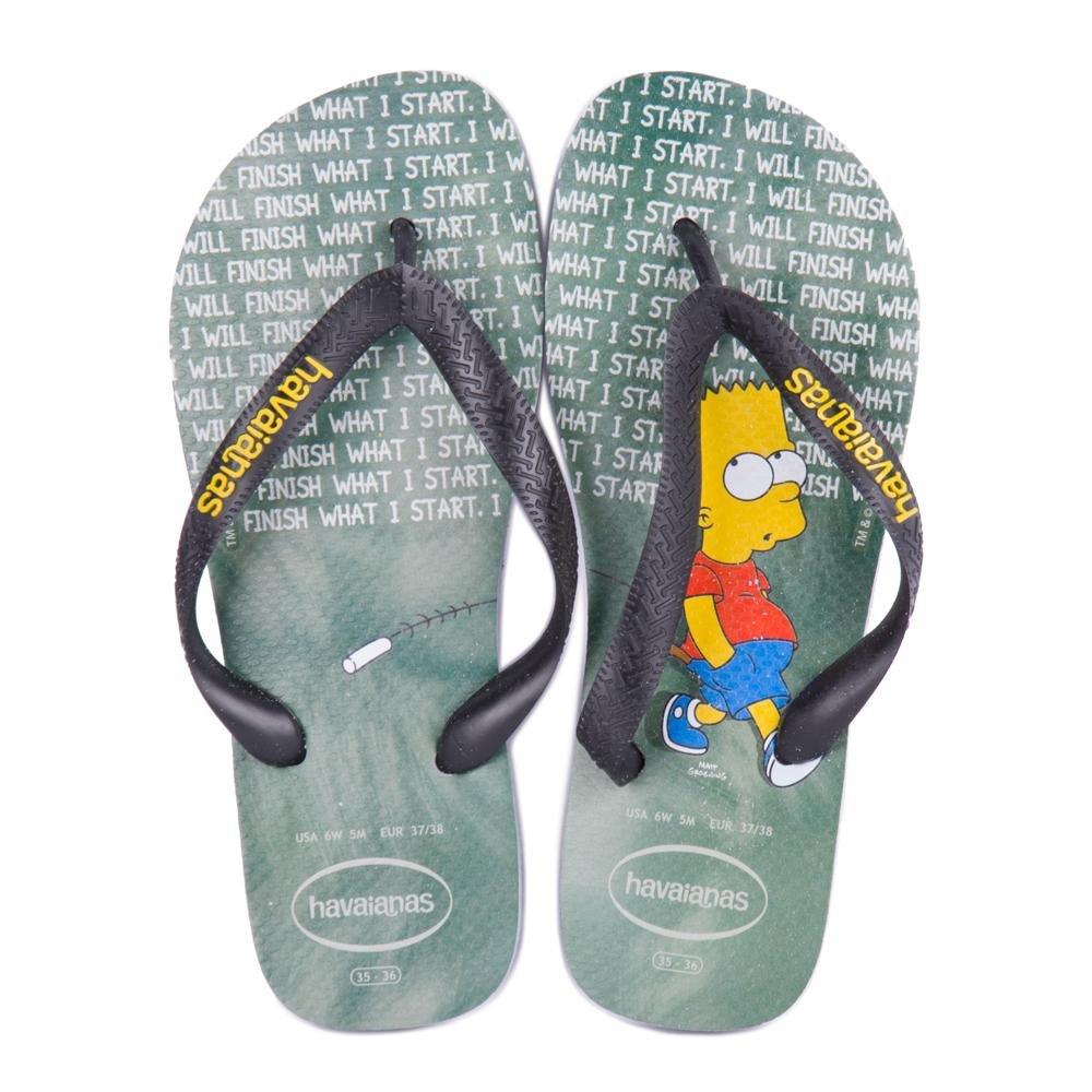 e Cinza e Simpsons Sandalia Simpsons Havaianas Gelo Gelo Sandalia Havaianas A6aqFO8