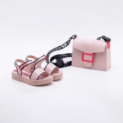 Imagem de Sandália Infantil Grendene Larissa Manoela Fashion Bag Feminina 0e91568c99