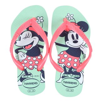 Sandália Infantil Havaianas Disney Feminina