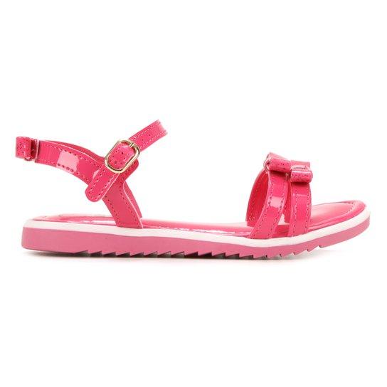 Sandália Infantil Kidy Amar e Comfort Laço Feminina - Pink
