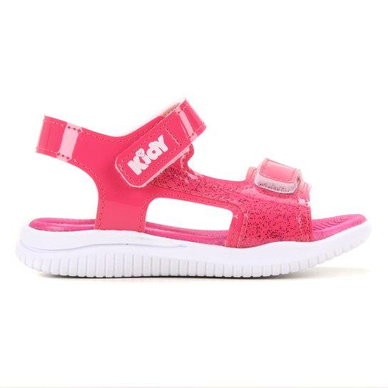 Sandália Infantil Kidy Fly Baby Feminina - Pink