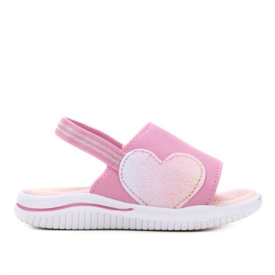 Sandália Infantil Kidy Fly Baby Feminina - Roxo