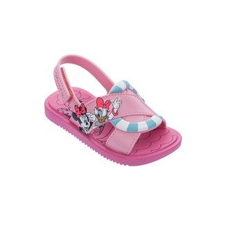 Sandália Infantil Minnie Mouse Disney Shower Grendene Feminina