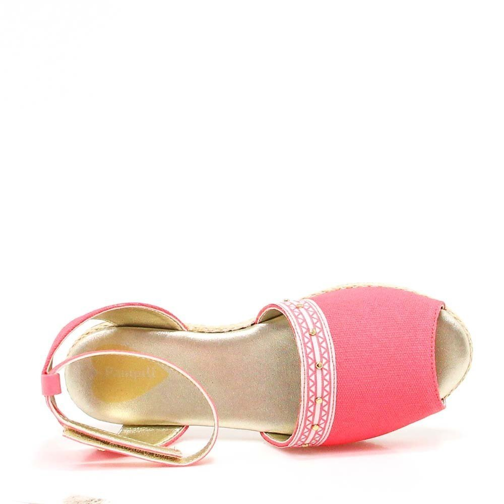 Pampili Feminina Sandália Avarca Infantil Pink Avarca Infantil Sandália Cadarço Pampili PWRgx4wdxq