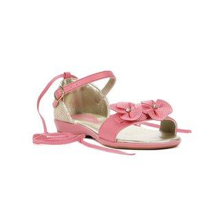 Sandália Infantil Para Menina - Rosa