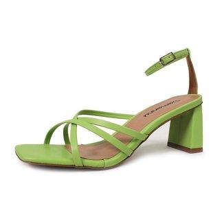 Sandália Kelly Avocado Damannu Shoes Feminina