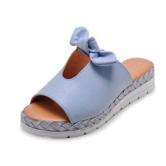 Sandalia Laco Flat Form Vizzano 6388411 Jeans 1055