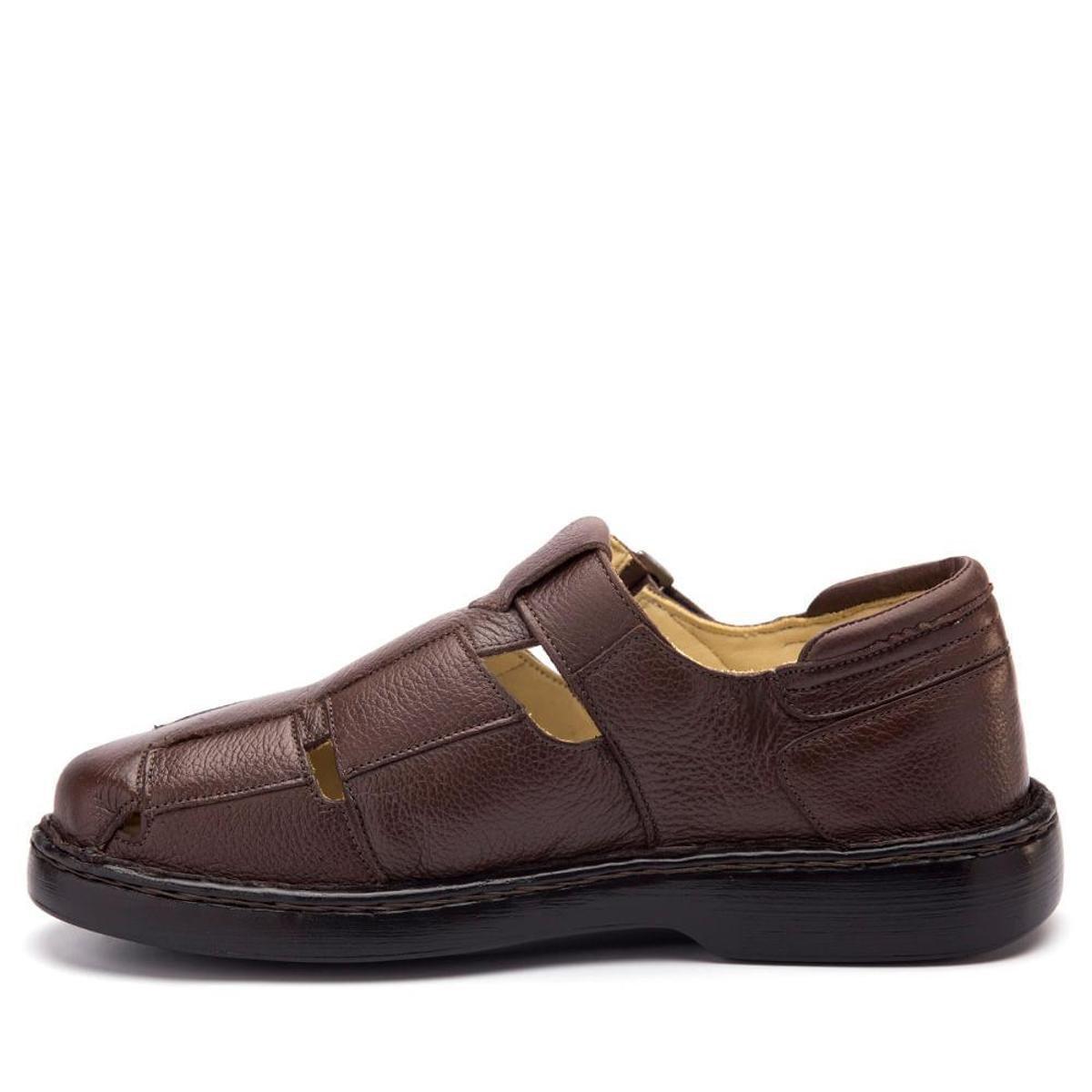 Floater Couro em Couro Sandália Doctor Doctor 306 Sandália Masculina Masculina Café Café Floater Shoes Shoes em 306 wxXOgn007A