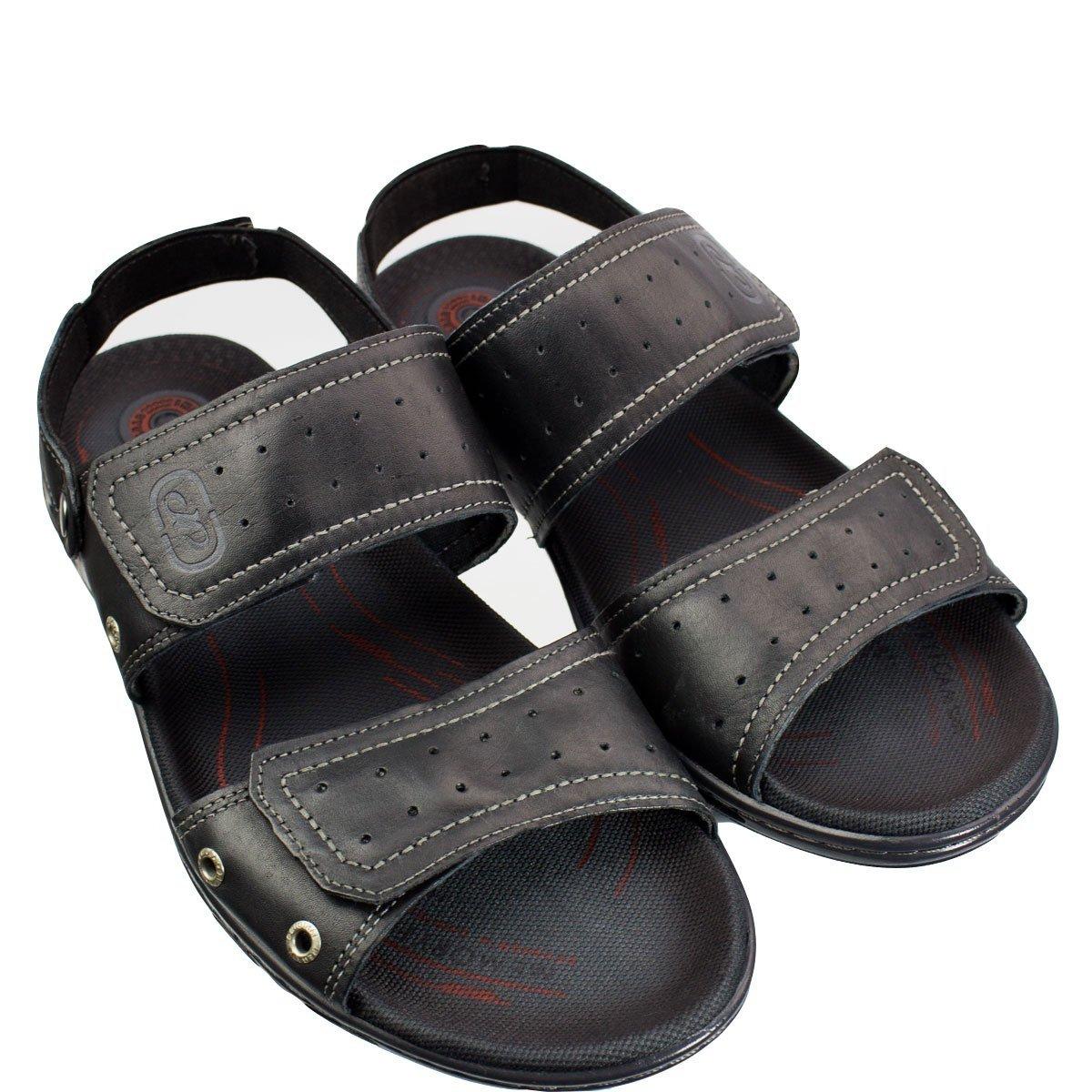 Plus 05 Preto Pegada Size Sandália Plus Sandália 530612 Masculina 8xwx1BEq