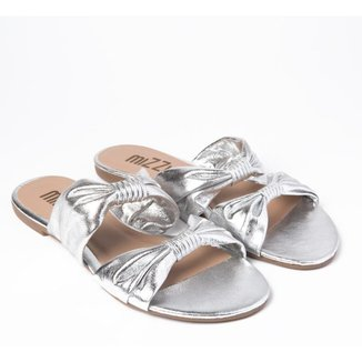 Sandália Rasteira Mizzi Shoes Duplo Nó Feminina