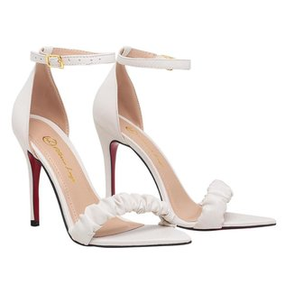 Sandalia Salto Alto Feminina Bico Fino Scarpin SAL-NS-AE-1