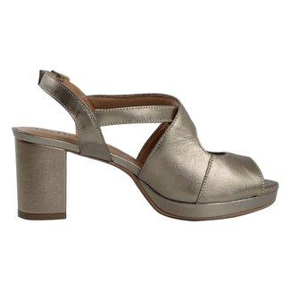 Sandália Salto Medio Confort