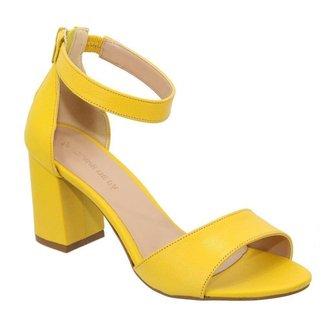 Sandalia Sandalo Clave De Fa Lemon Feminina