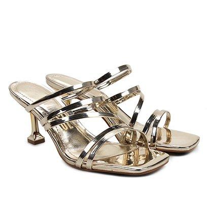 Sandália Santa Lolla Specchio Metalizado