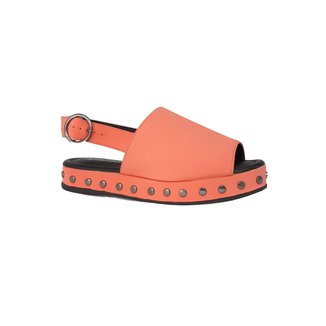 Sandália Sapatos e Botas Nobuck Tachas Feminina