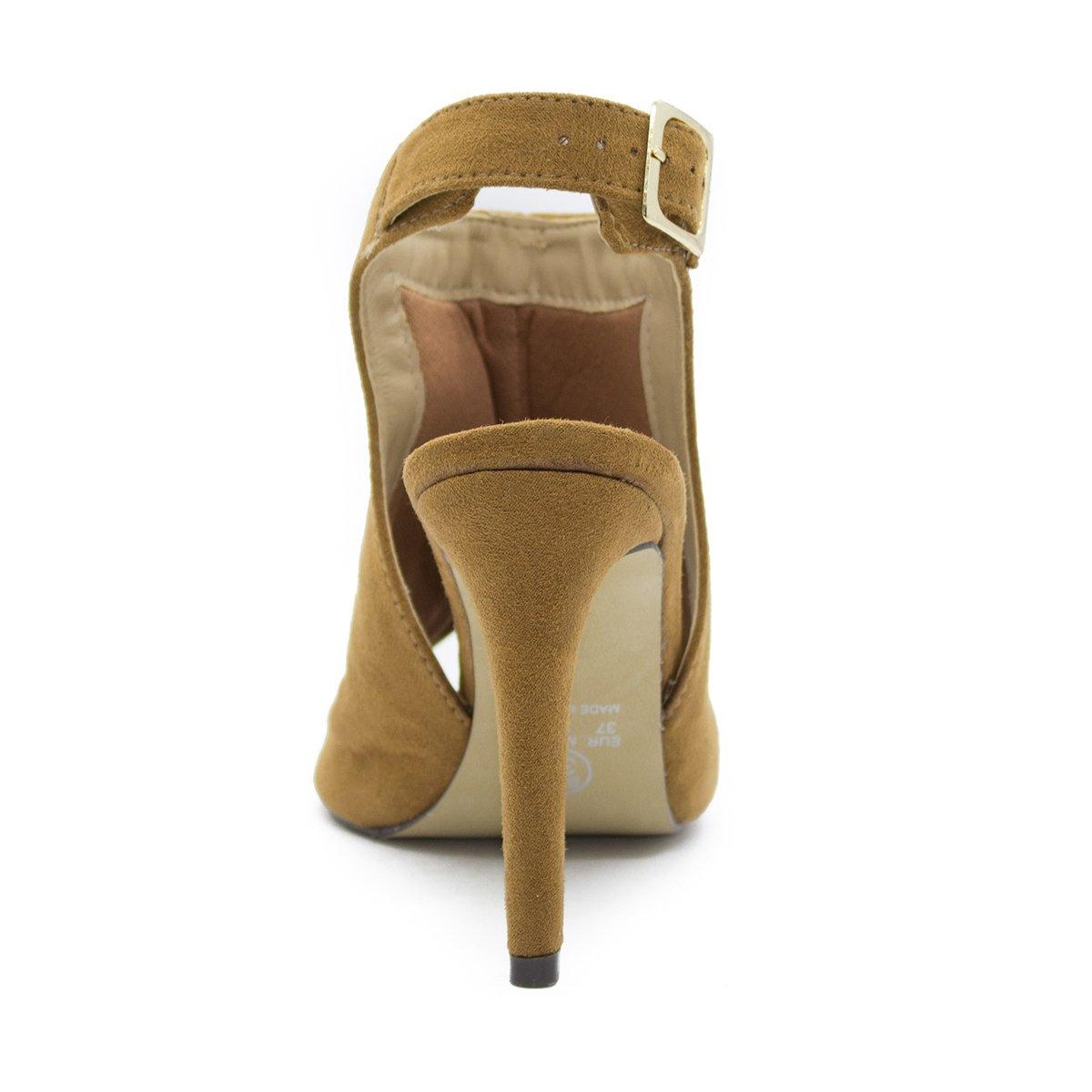 Inbox Feminina Boot Caramelo Sandália Sandália Sandal Shoes Shoes Fino Salto HwtSqqaF