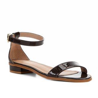 Sandália Shoestock Flat Tira Naked Feminina