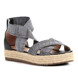 Sandália Shoestock Flatform Elástico Feminina