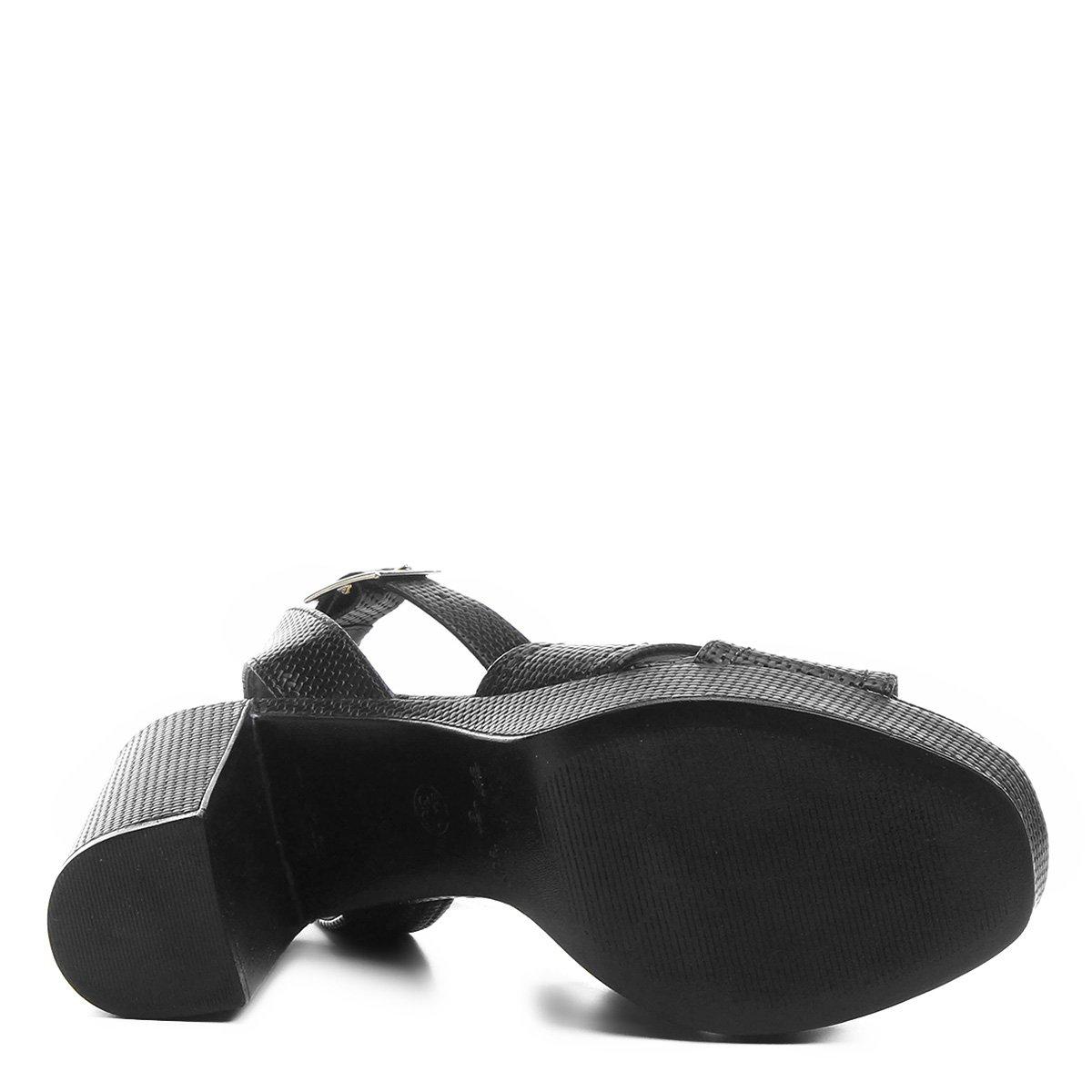 Sandália Pata Meia Pata Sandália Meia Preto Trama Shoestock Shoestock Trama Shoestock Feminina Meia Sandália Preto Pata Feminina g8qp4w