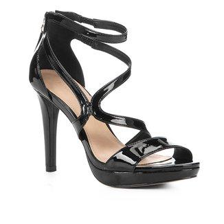 Sandália Shoestock Meia Pata Verniz Feminina