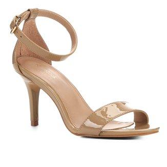 Sandalia Shoestock Salto Alto Naked Feminina