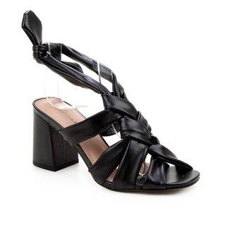Sandália Shoestock Tiras Trançadas Feminina