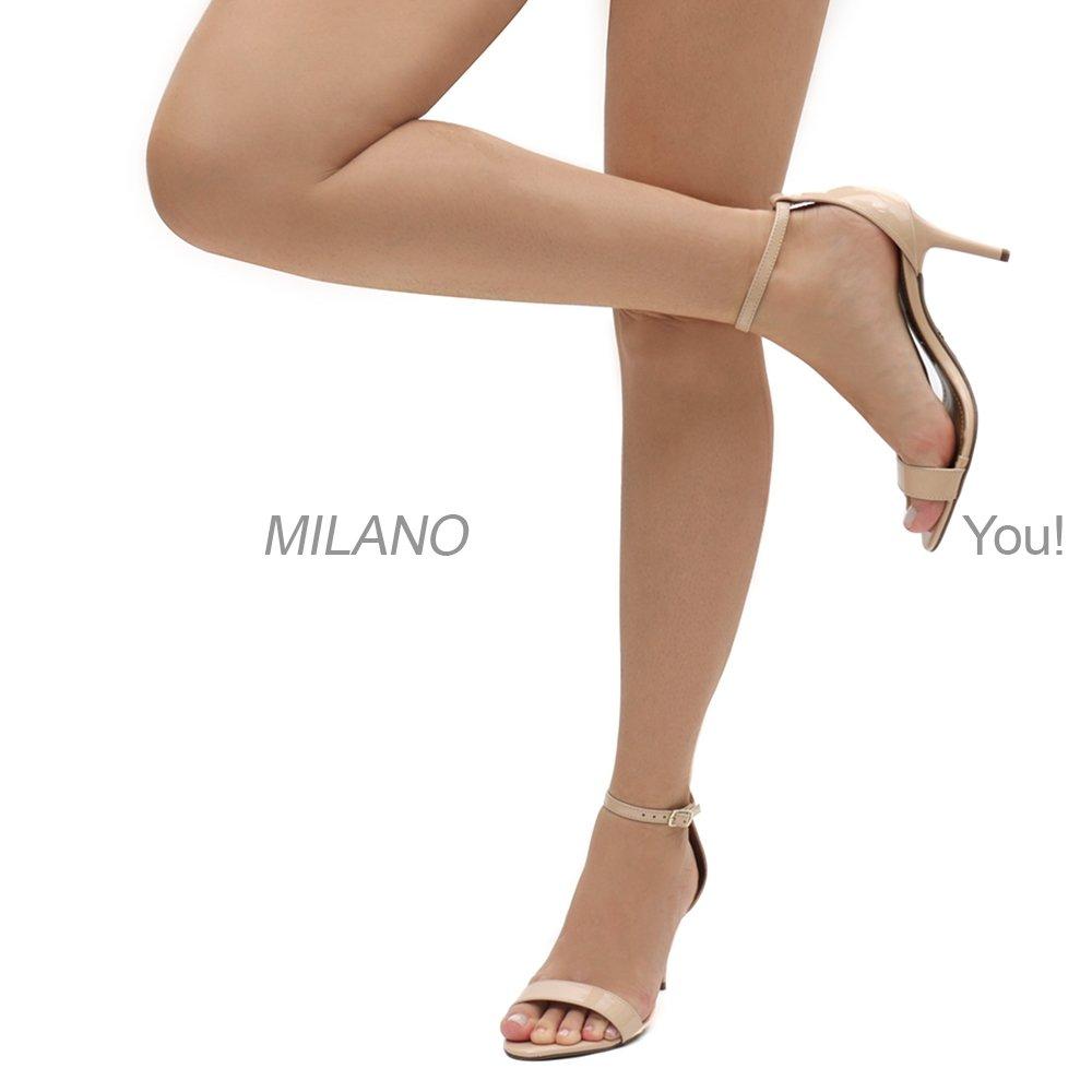 Milano Sandália Sandália Social Vz Bege Milano Social Feminina 4wgwdxAInE