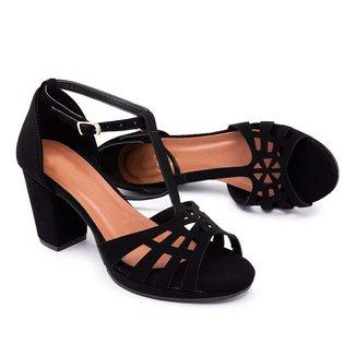 Sandália Top Franca Shoes Feminina