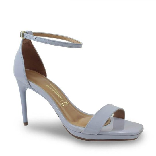 Sandália Vizzano 6432.100.13488 Verniz Feminino - Jeans