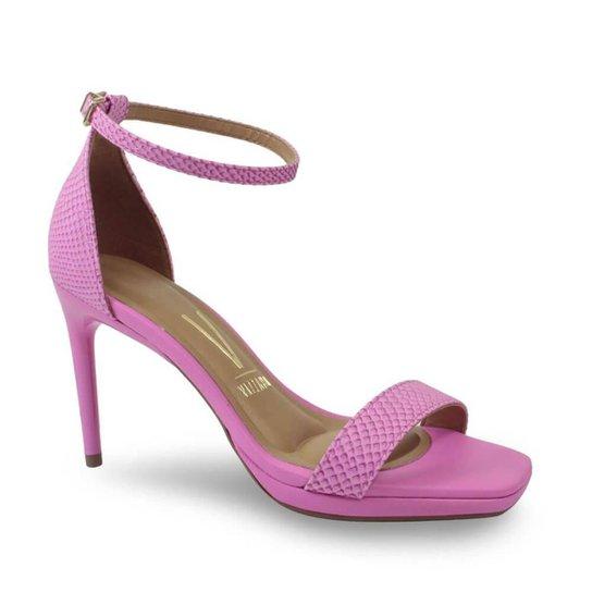 Sandália Vizzano 6432.100.21412 Textura Feminina - Pink