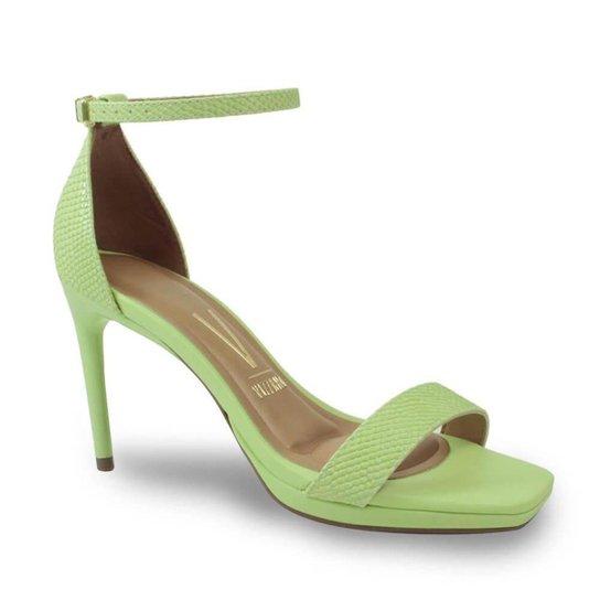 Sandália Vizzano 6432.100.21412 Textura Feminina - Verde
