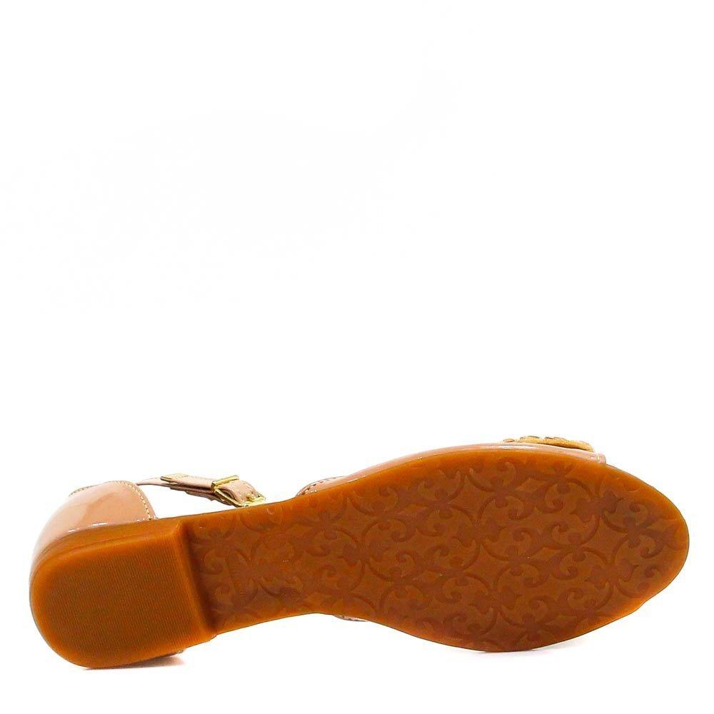 Shoes Pedras Sandália Sandália Rasteira Zariff Zariff Caramelo 8v4Twqxn