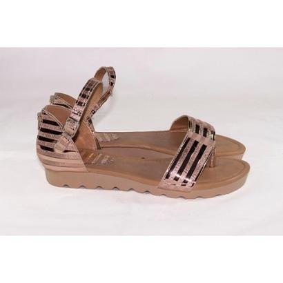 Sandália Zíper Gomes Shoes Feminina-Feminino