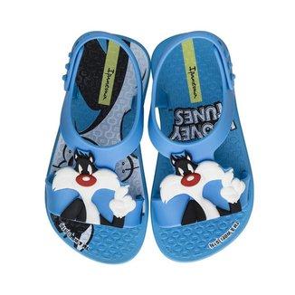 Sandalinha Infantil Menino Frajola Ipanema Looney Tunes 26372