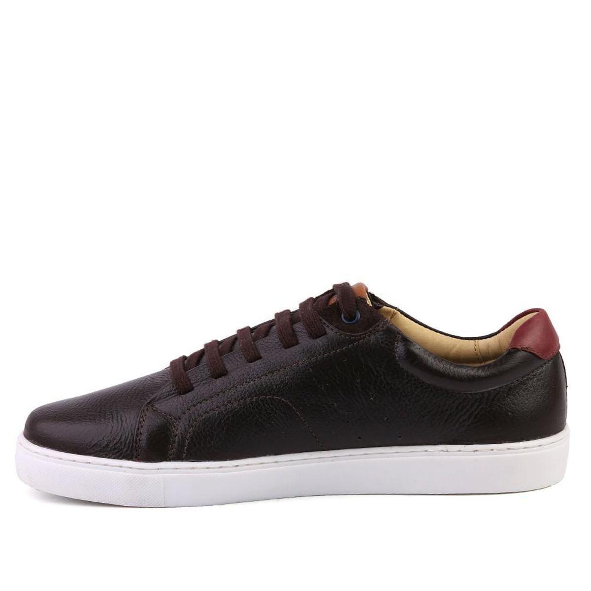 Couro Floater Masculino Shoes Sapatênis Sapatênis Marrom 4041 Couro Doctor Havana HwS6v7nq