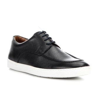 Sapatênis Couro Shoestock Clássico Masculino