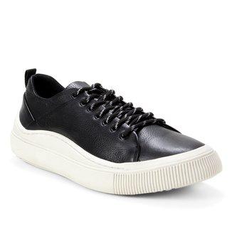 Sapatênis Couro Shoestock Confort Masculino