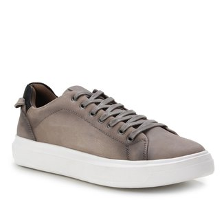 Sapatênis Couro Shoestock Stoned Basic Masculino
