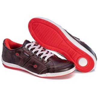 Sapatênis Couro Tchwm Shoes Confortavel Macio Masculino