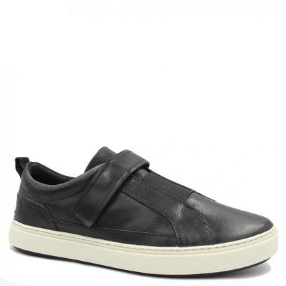 Sapatênis Couro Zariff Shoes Elastano Masculino