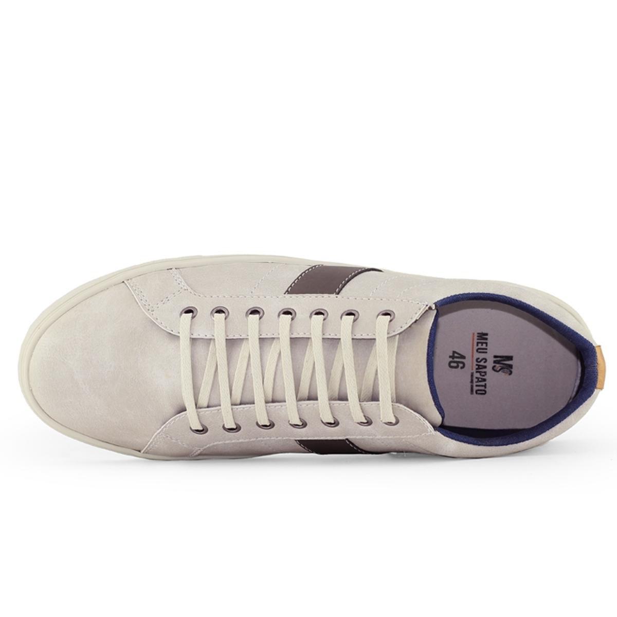 Sapatênis Meu Sapato Lite - Creme