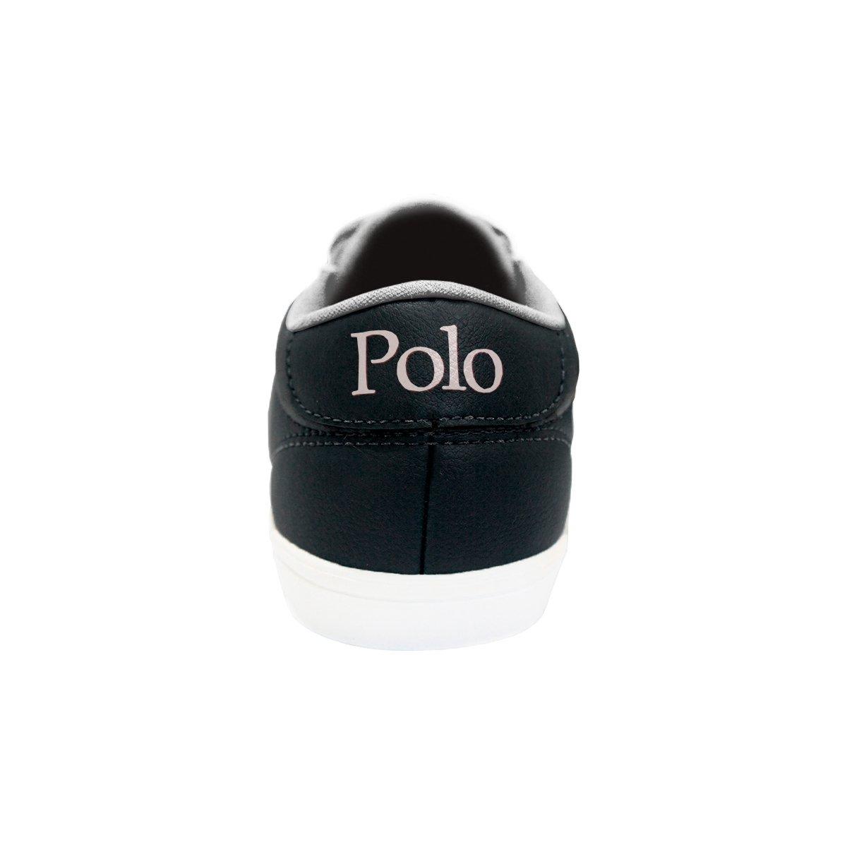 Preto Masculino Sapatênis Leeds Polo Sapatênis Match Polo 0qZRwR