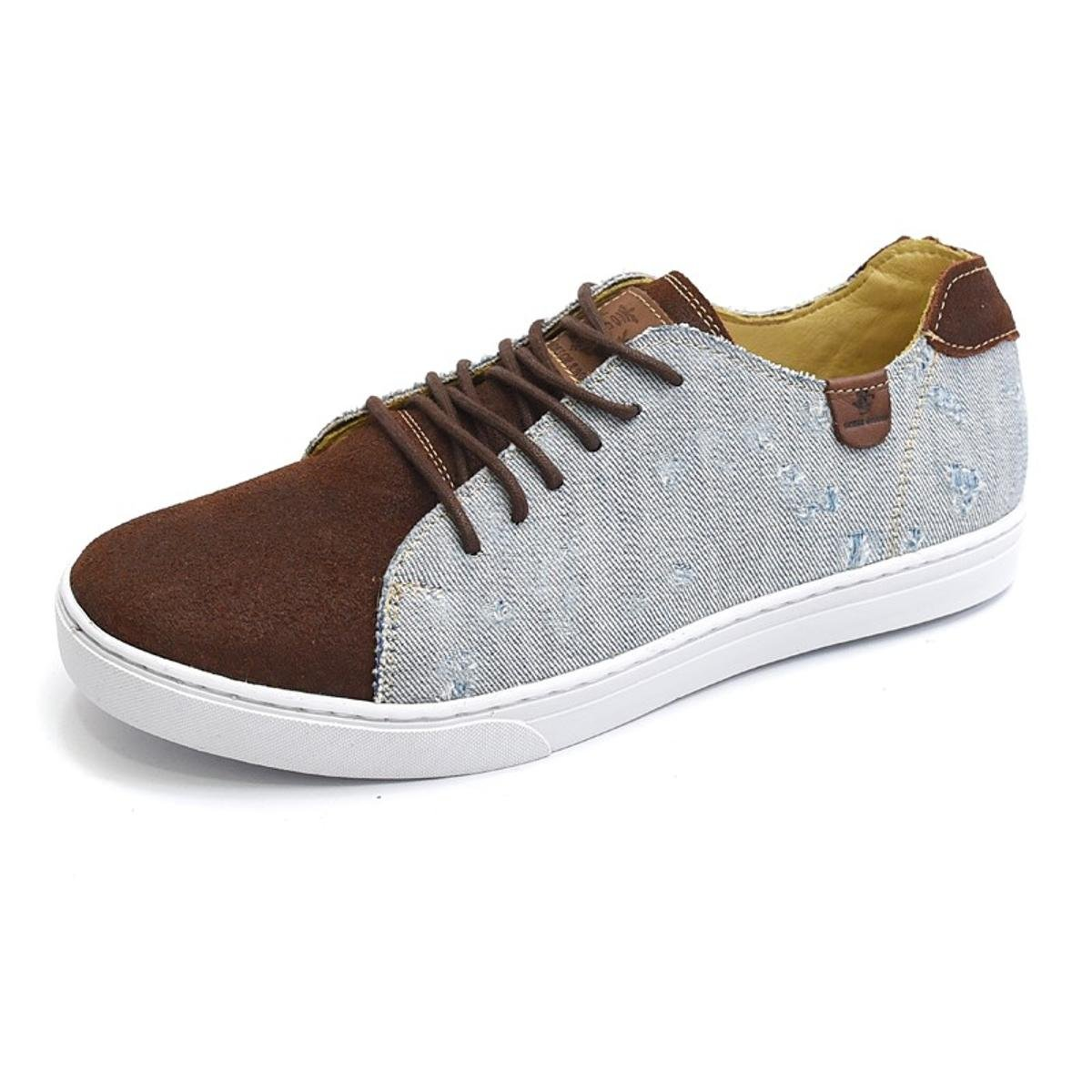 Sapatênis Shoes Grand Destroyed Masculino - Marrom
