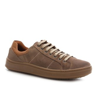 Sapatênis Shoestock Camurça Basic Masculino