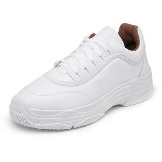 Sapatenis Top Franca Shoes Sola Alta Feminino