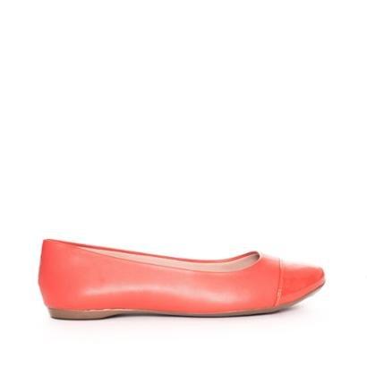 Sapatilha Bico Redondo Verniz Sonho dos Pés Feminina